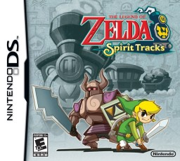 Zelda Spirit Tracks Cover